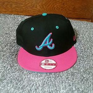 Atlanta Braves Snap Back Hat
